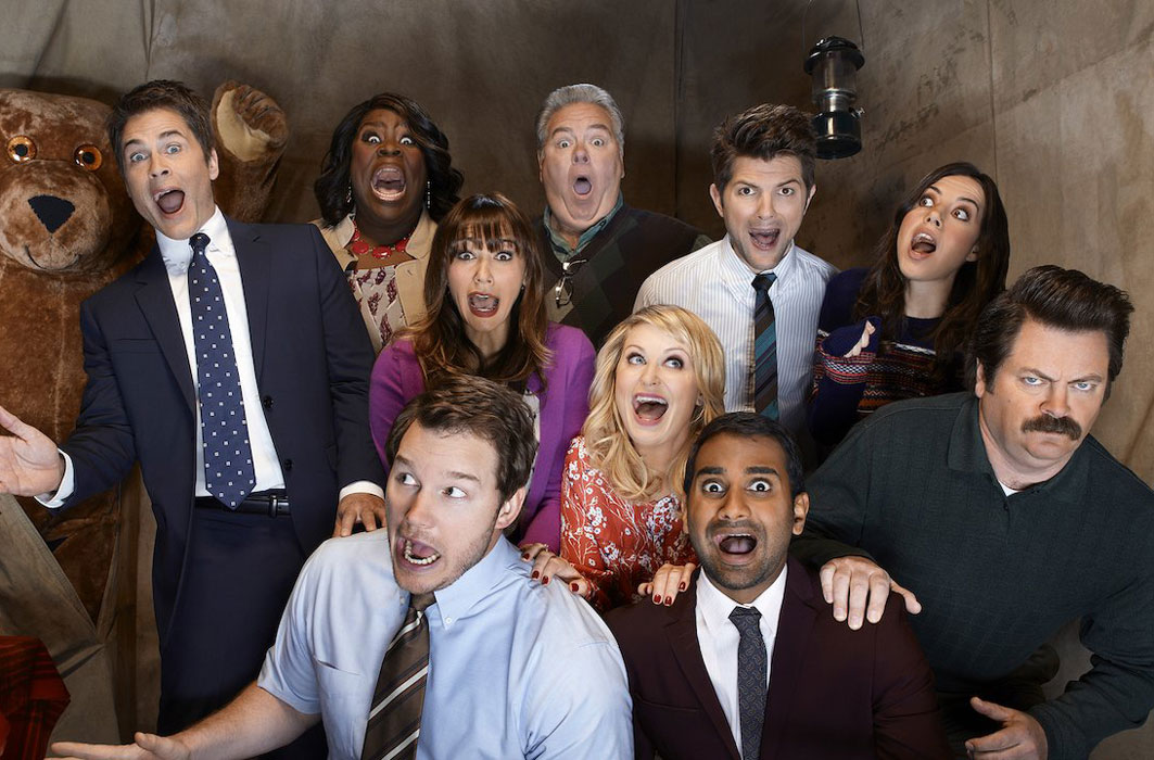 La distribution de Parks and Recreation.