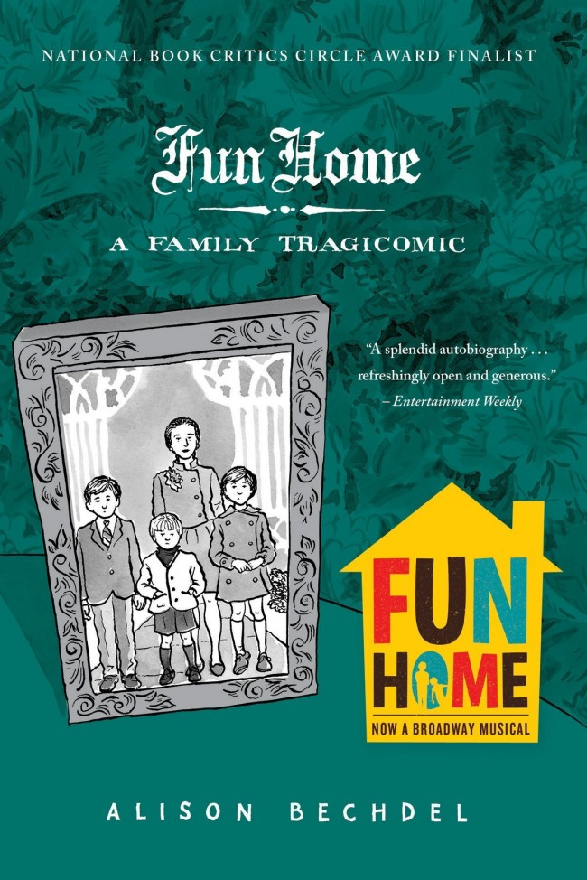 Couverture de la bd Fun home