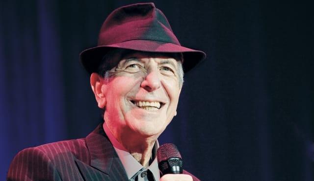 Leonard Cohen en concert à Londres