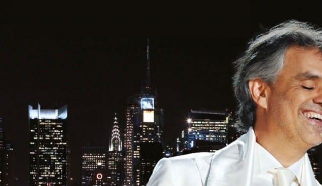 Andrea Bocelli en concert à Central Park