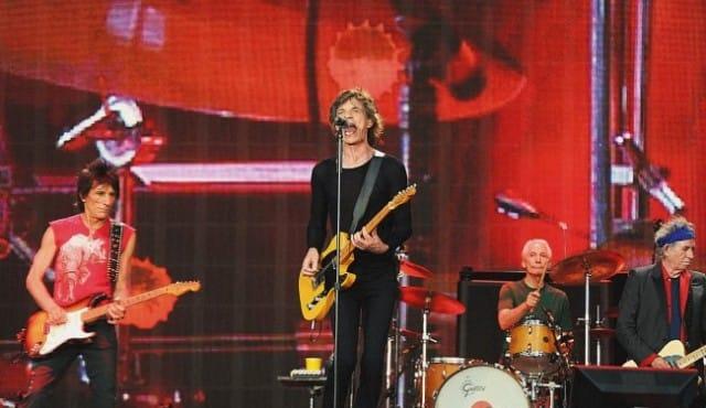 The Rolling Stones en concert à Hyde Park