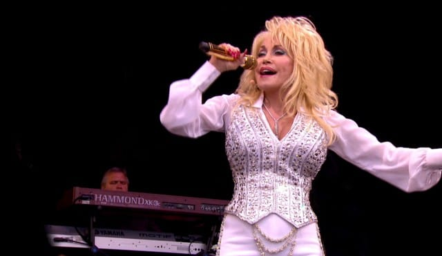 Dolly Parton à Glastonbury